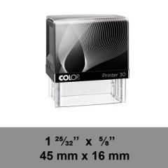 étampe Colop Printer 30 sur mesure dim