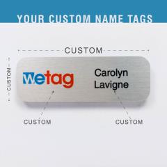 Name tag - Metal - Standard shape - Inspiration 109